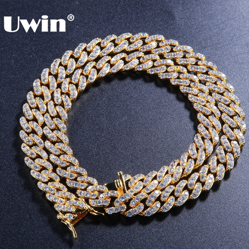 Uwin Micro Pave Necklace