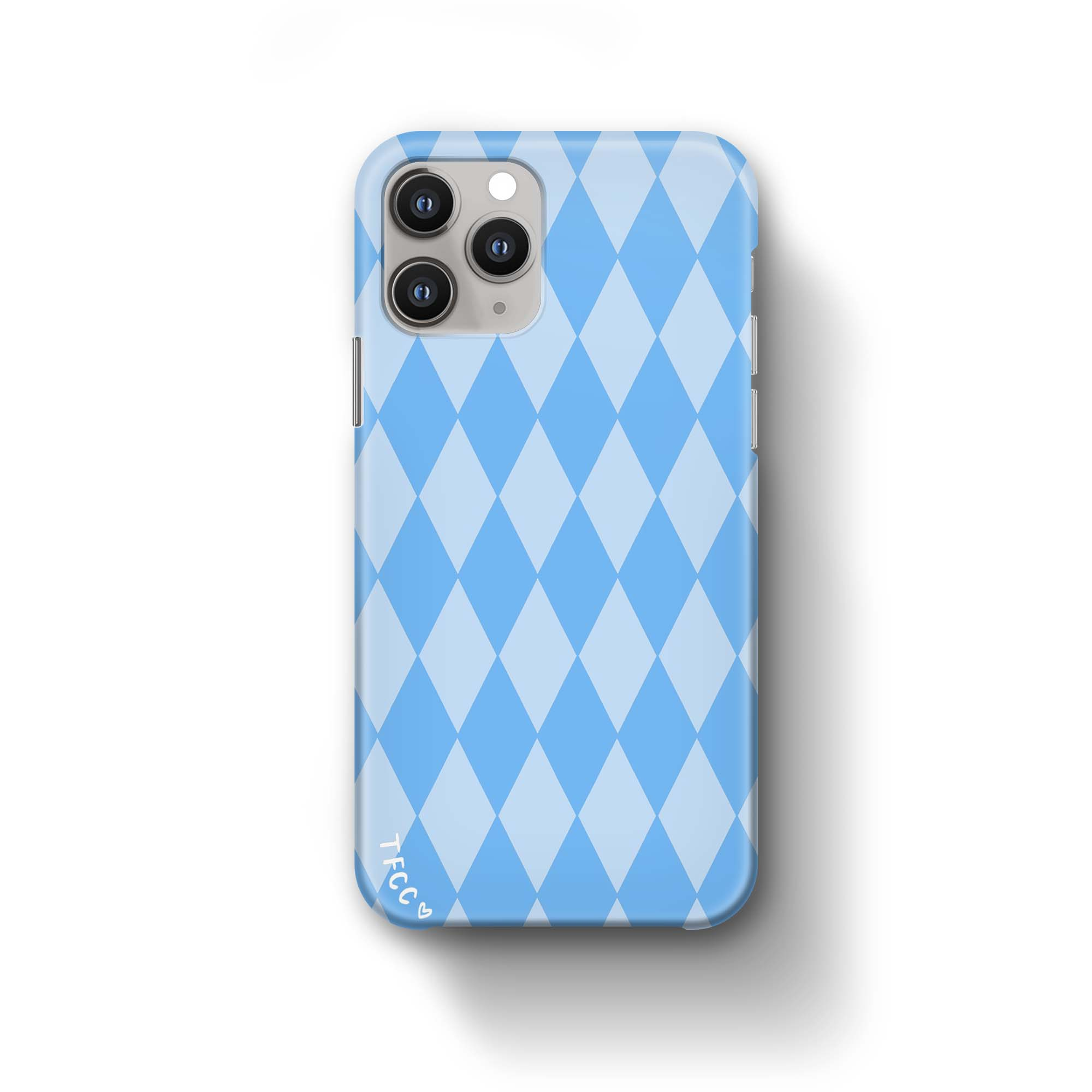 BLUE CHECK CASE - thefonecasecompany