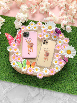 BAMBI BUTTERFLY CLEAR CASE - thefonecasecompany