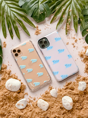 OCEAN WAVES CLEAR CASE - thefonecasecompany