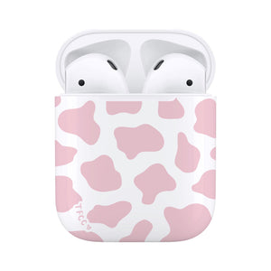 Cow Print Pink AirPods Case - thefonecasecompany