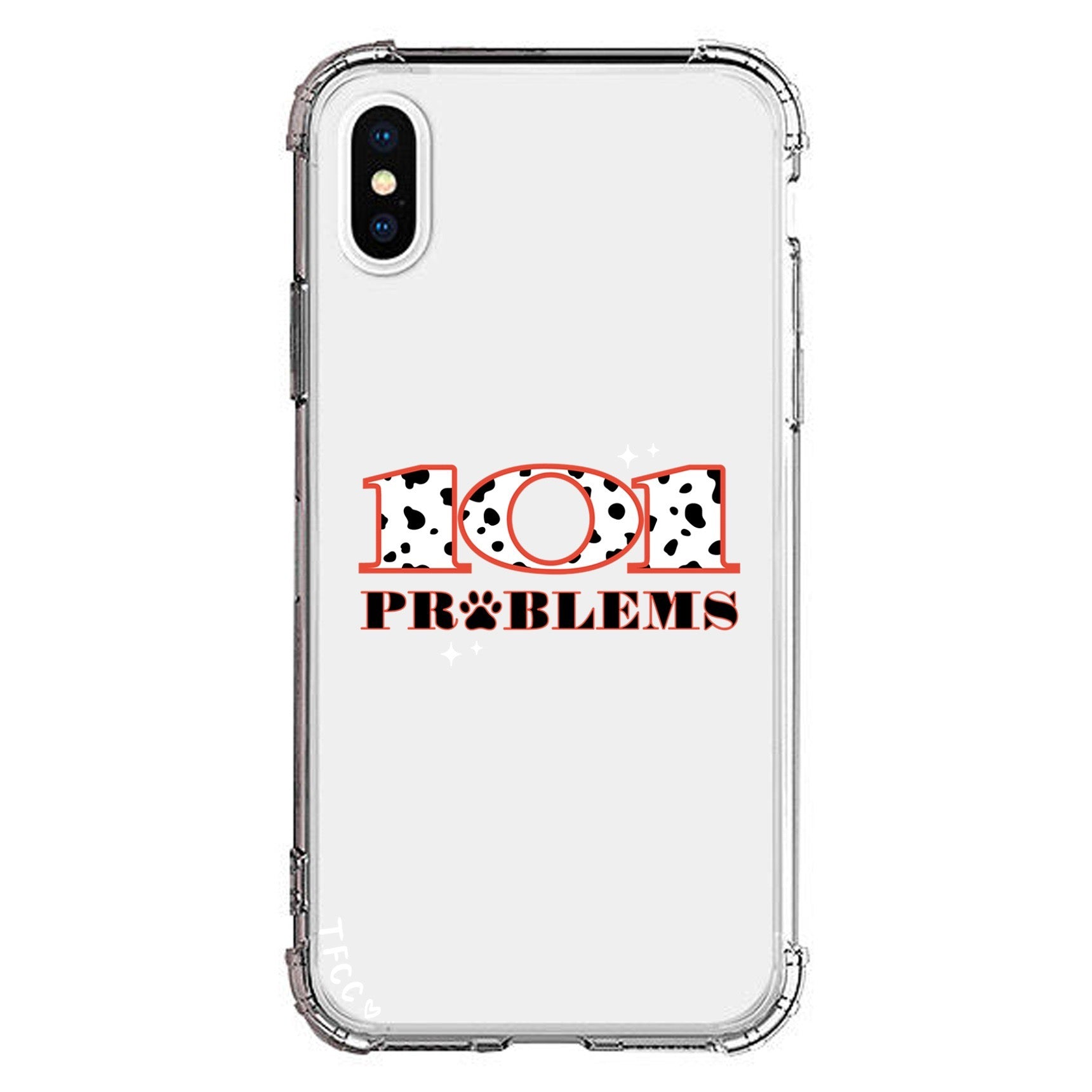101 PROBLEMS CLEAR CASE - thefonecasecompany