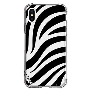 ZEBRA CLEAR CASE - thefonecasecompany