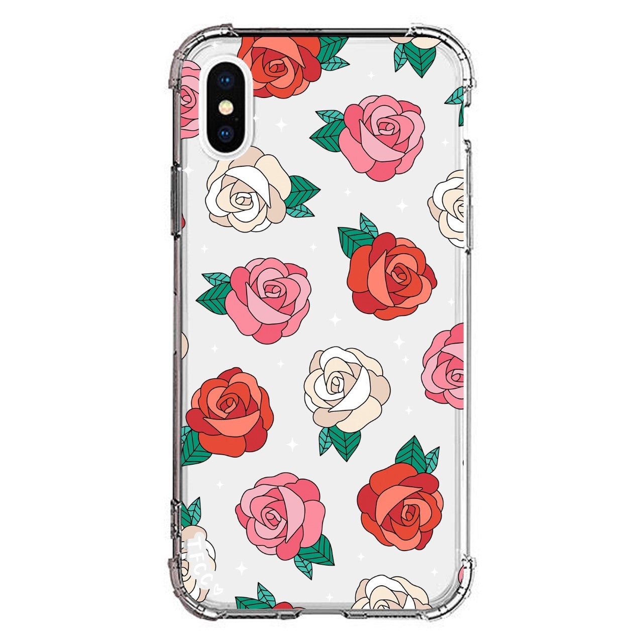 ROSES CLEAR CASE - thefonecasecompany