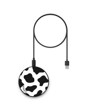 Cow Print Wireless Charger - thefonecasecompany