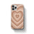 Brown Heart Case - thefonecasecompany