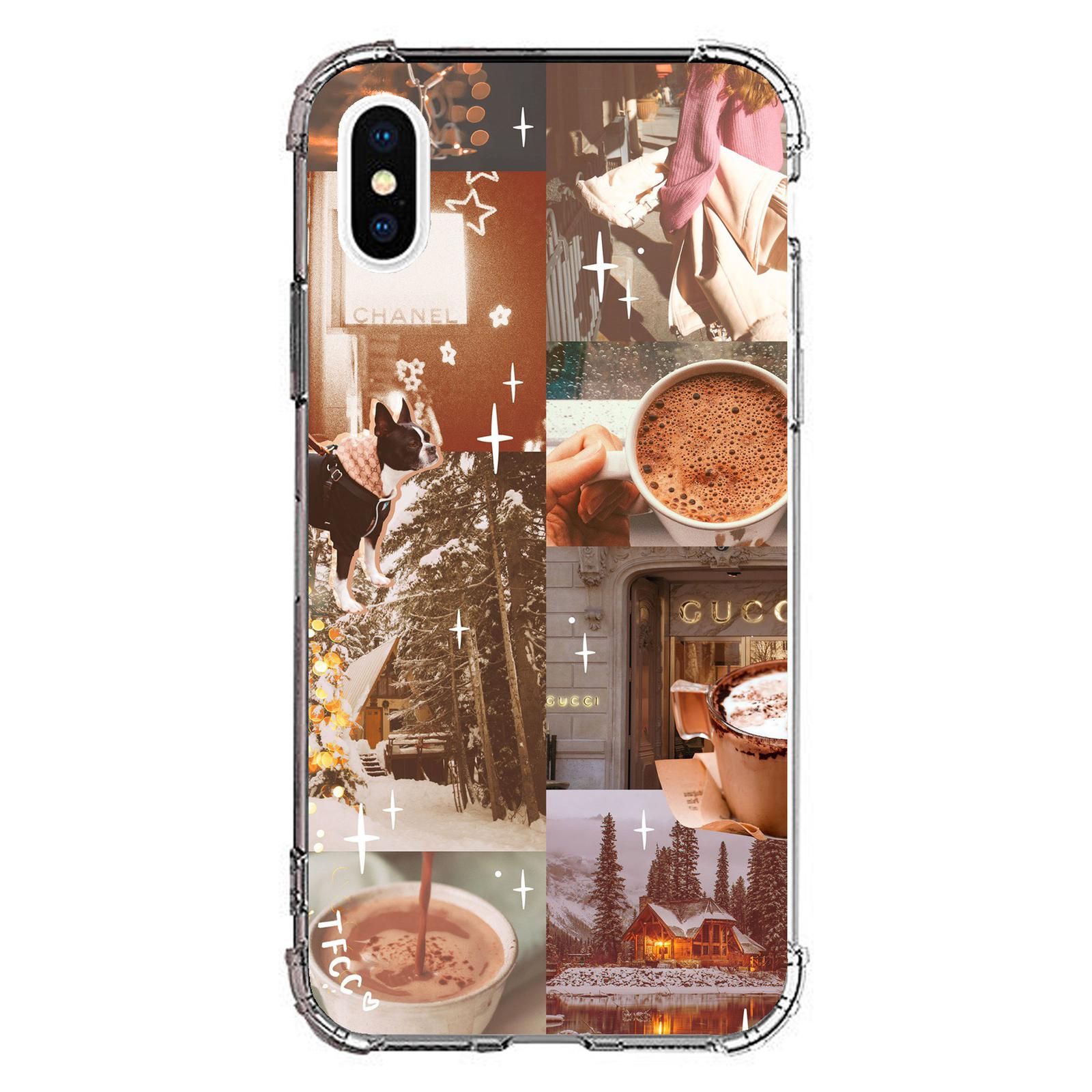 WINTER WONDERLAND CLEAR CASE - thefonecasecompany