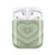 Green Heart AirPods Case - thefonecasecompany