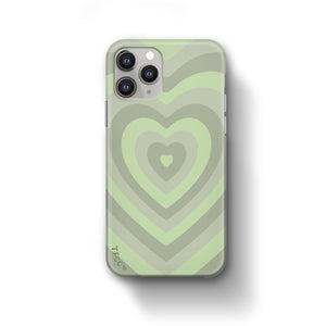 Green Heart Case - thefonecasecompany