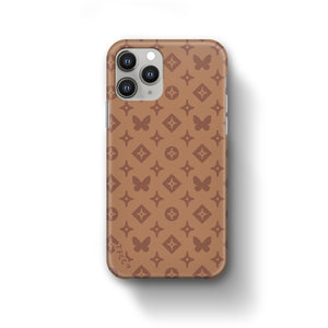 MONO BUTTERFLY BROWN CASE - thefonecasecompany