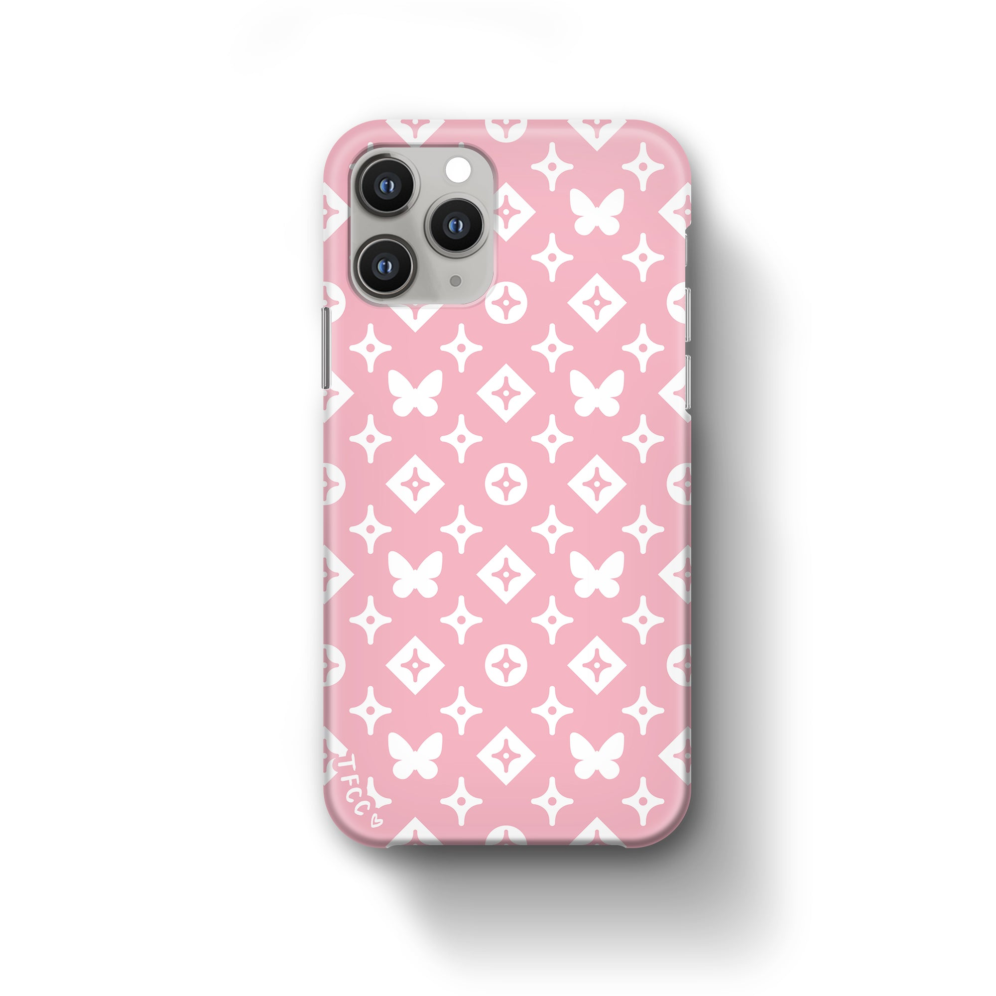MONO BUTTERFLY PINK CASE - thefonecasecompany