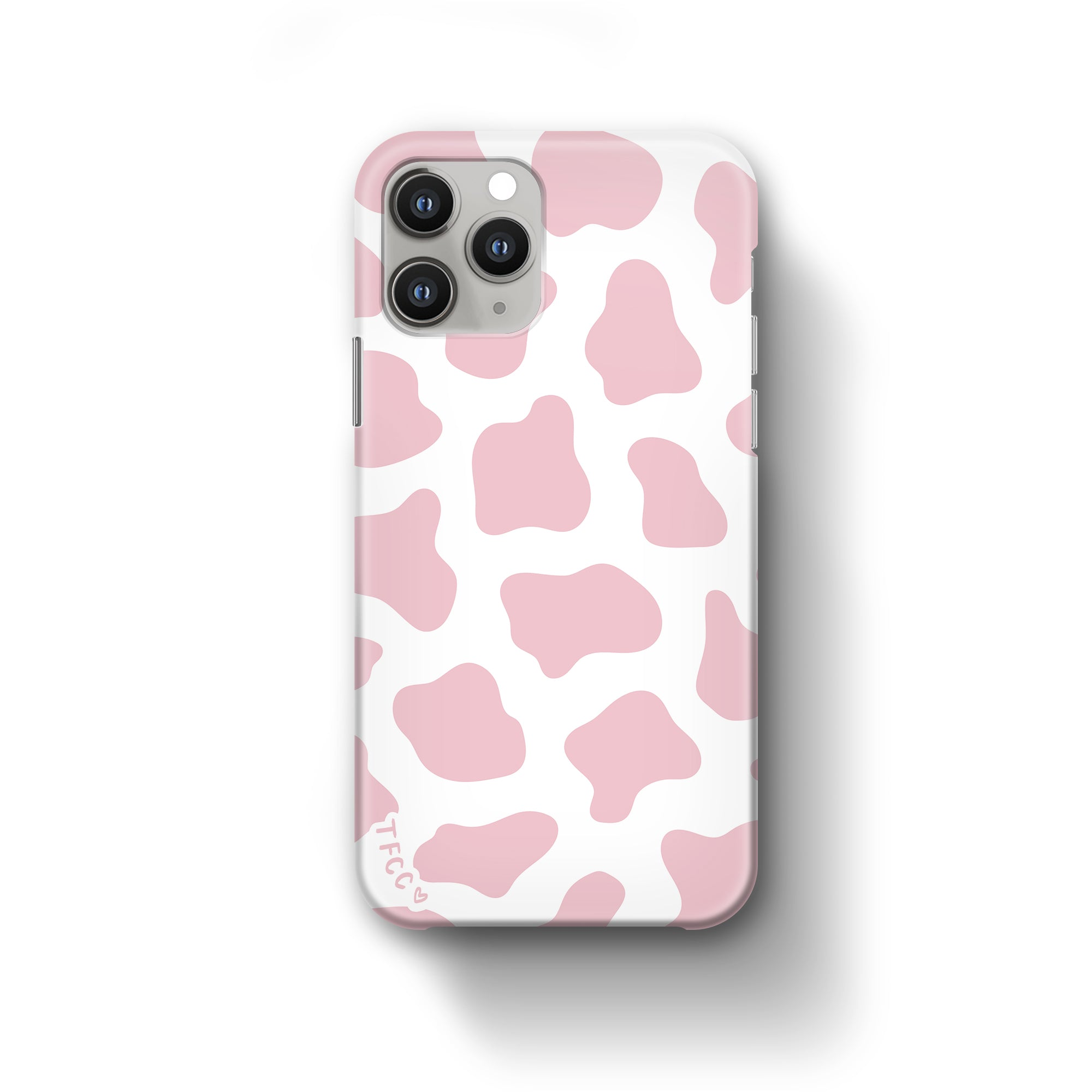 COW PRINT PINK CASE - thefonecasecompany