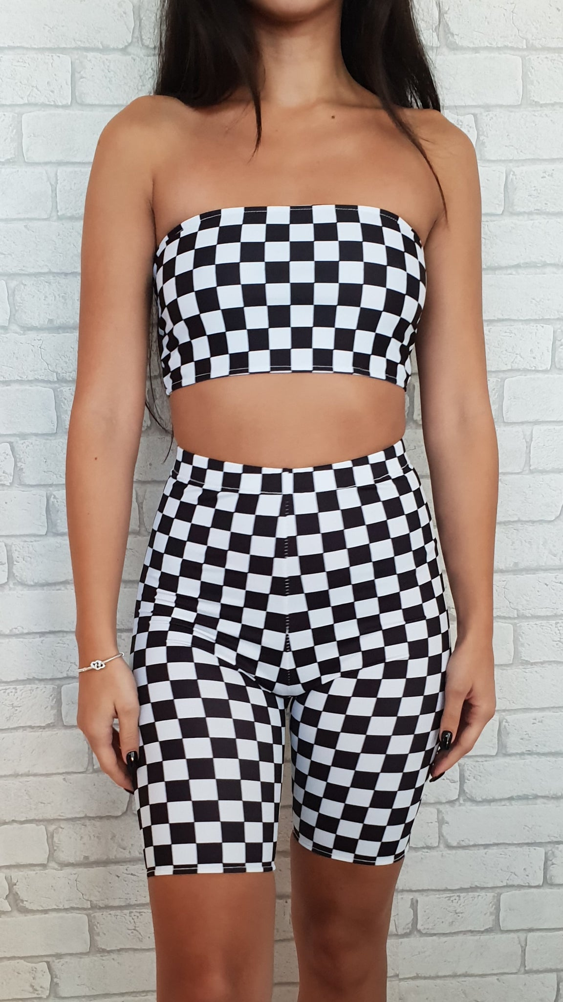 Checkerboard Bandeau