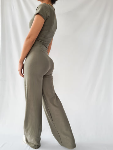 Lazy Days Wide Leg Trousers