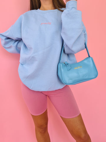 Baby Blue Sugar Sweatshirt