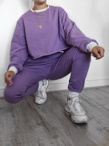 Deep Lilac Jumper