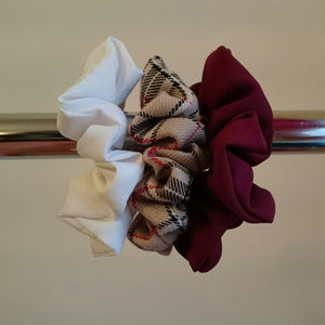 Autumn Scrunchies