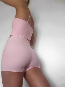 Baby Pink Strap Top