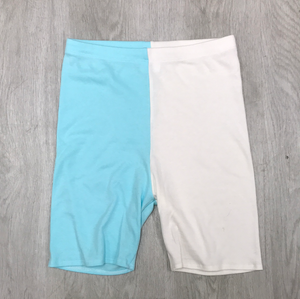 RTS Vanilla/Mint Cycle Shorts