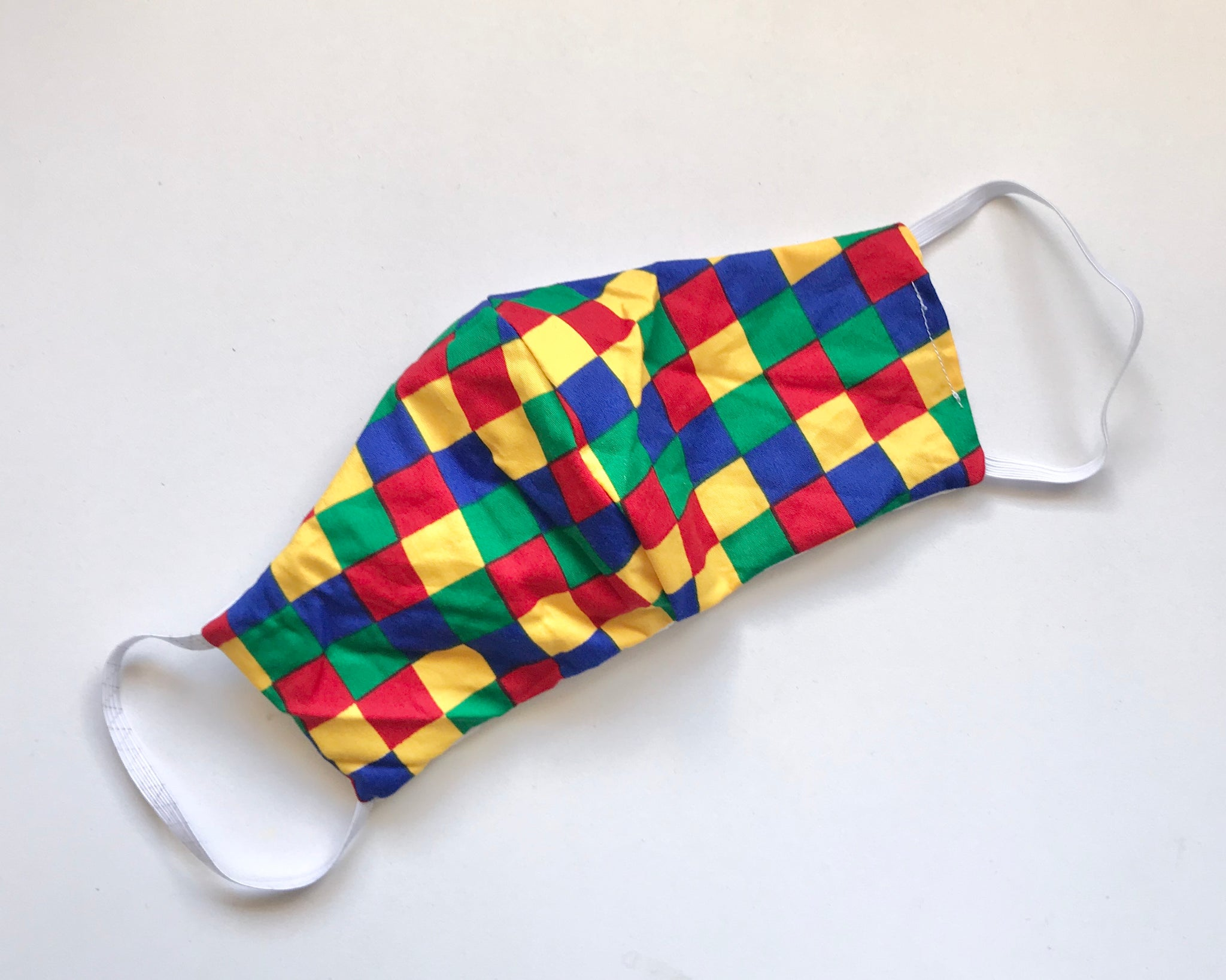 Multicoloured Squares Mask