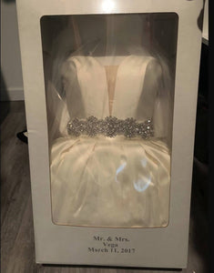 Calle Blanche Wedding Dress Size 4
