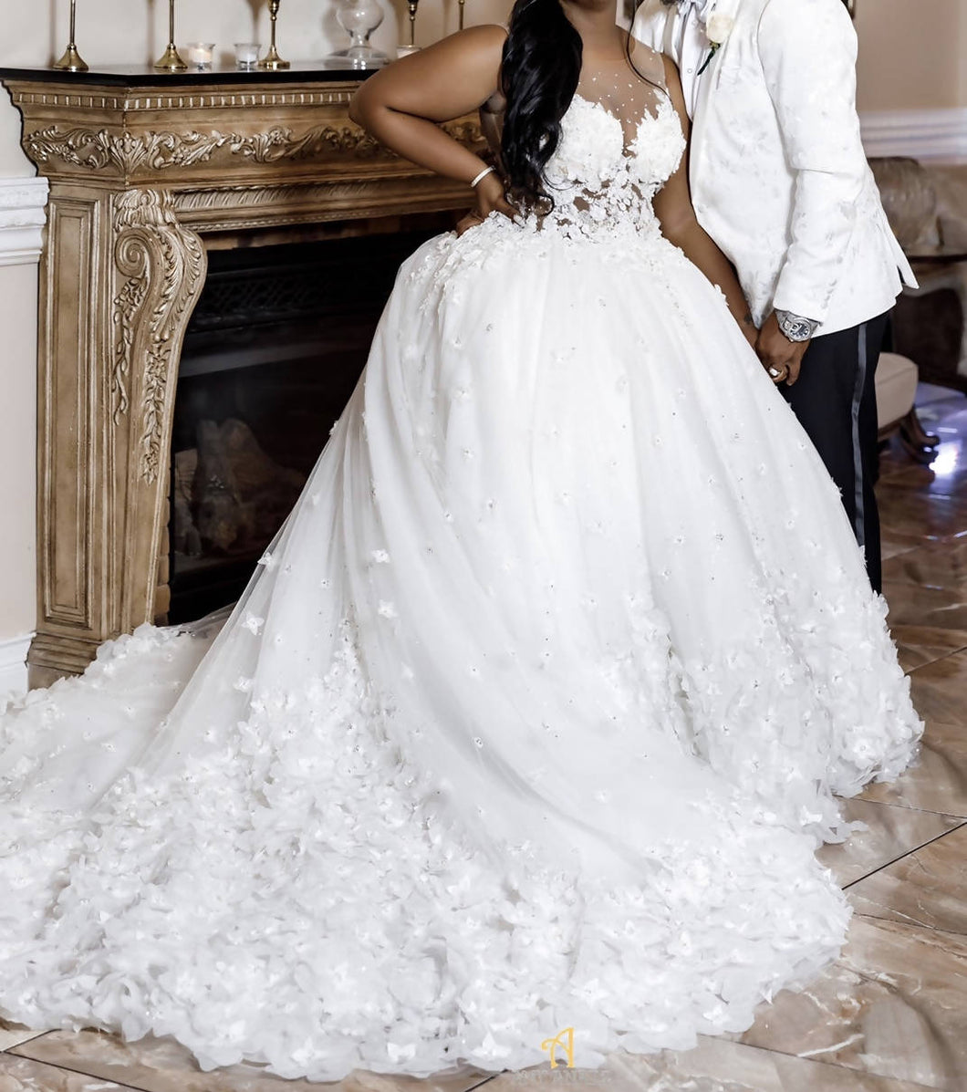 Randy Fenoli Wedding Dress
