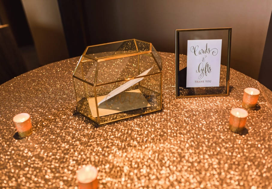 Celebrate It™ Occasions™ Votive Holders, Gold Glitter