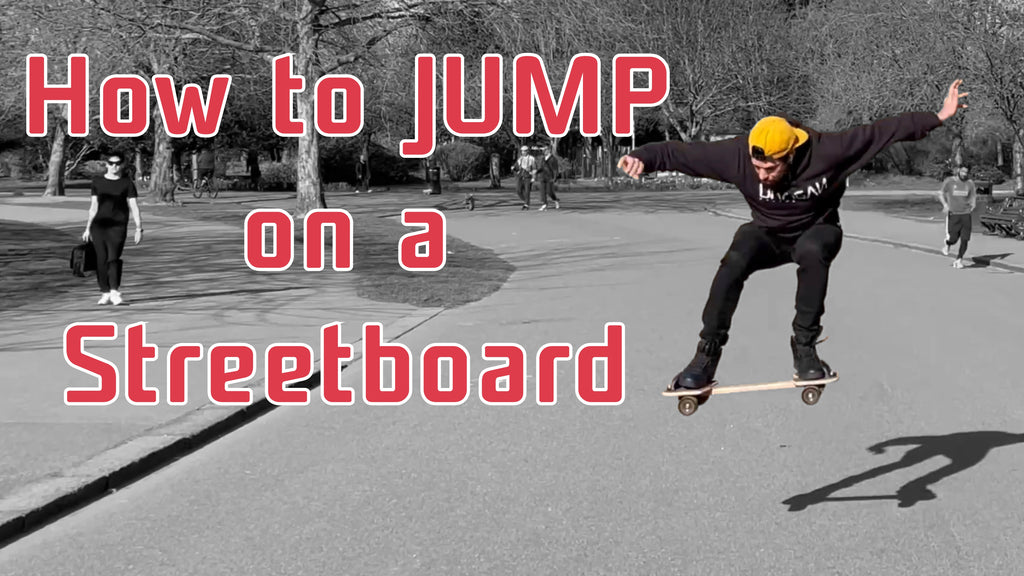 How To Jump on a Streetboard Tutorial
