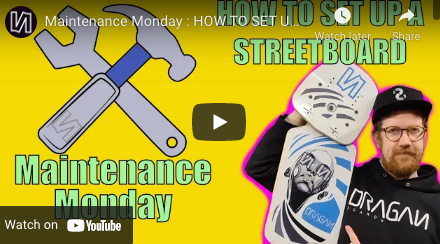How to Set Up a Streetboard