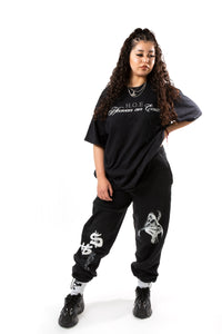 Heaven on Earth Sweatpants - Black