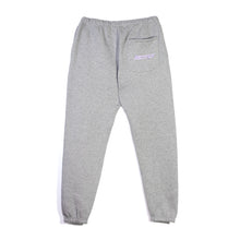 Load image into Gallery viewer, ANGEL DEVIL - GREY SWEATPANT WITH PURPLE GLITTER-METALLIC