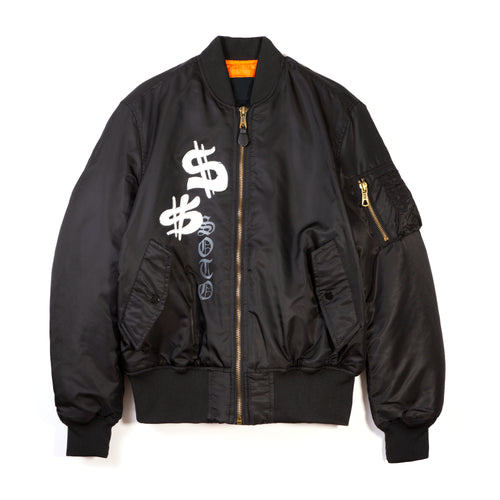 Heaven on Earth Bomber - Black