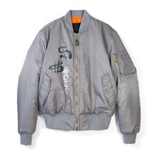 Load image into Gallery viewer, Heaven on Earth Bomber - Grey
