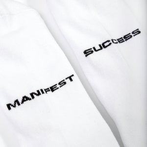 Manifest Socks - White