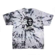 Load image into Gallery viewer, BBYYY Custom Tie Dye Tee with Silver Rhinestones