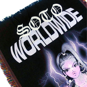 Limited Edition Soto Worldwide Throw Blanket
