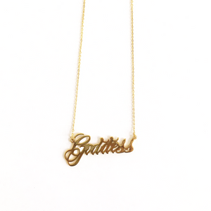 Goddess Chain Necklace