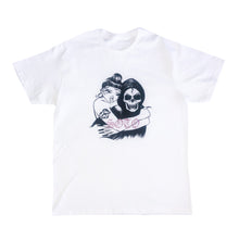Load image into Gallery viewer, BBYYY White Tee with Pink Rhinestones