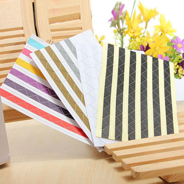 102 Pcs Po Scrapbook Album Corner Tape Sticker Self-adhesive Handmade DIY