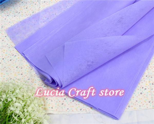 1packapprox 38pcs 50*50cm Bouquet Crepe Paper Wrapping Florist Flower Packing 049007019