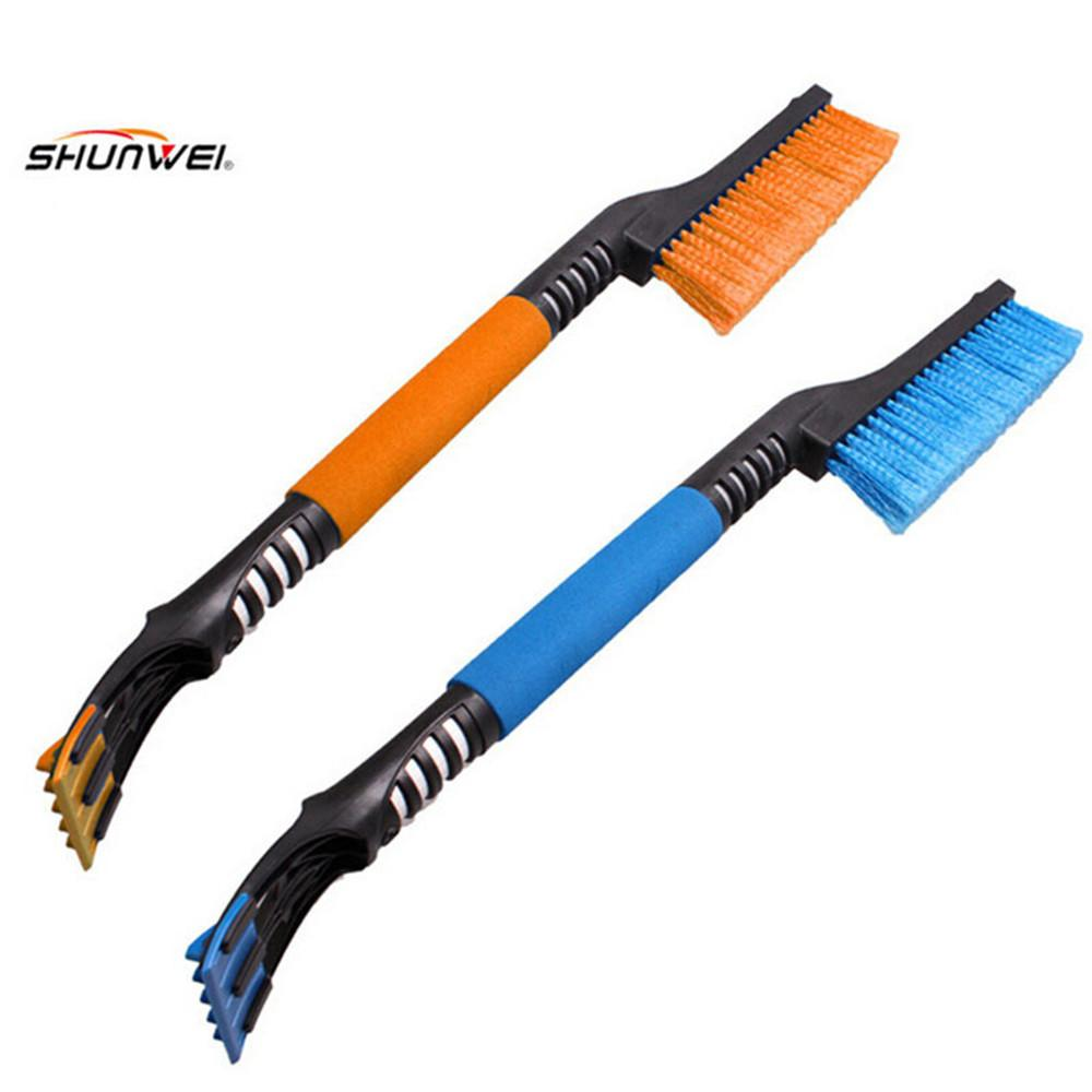 1PC Car vehicle Snow Ice Scraper SnoBroom Snowbrush Shovel Removal Brush Winter Car Accessories