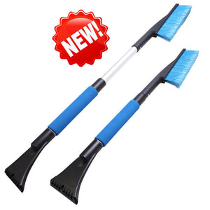 1PC Car Vehicle Snow Ice Scraper SnoBroom Snowbrush Shovel Removal Brush Winter Car Windows Clean Tools Accessories