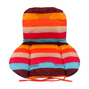 1Pcs Striped Liner Infant Stroller Mat Rainbow Color Soft Thick Pram Cushion Chair Baby Car Umbrella Cart Seat Pad
