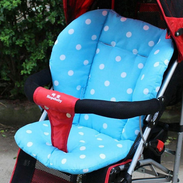 2016 Thick Colorful Baby Infant Stroller Car Seat Pushchair Cushion Cotton Cover Mat Lovely Cute Design Baby Seat Cushions