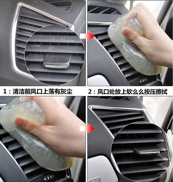 2016 Car Clean Tool Auto Universal Cyber Super Clean Glue Car Cleaning Sponge Products Microfiber Dust Tools Mud Gel Dust Glue