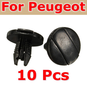 2017 Brand For Peugeot 207 307 206 SW Set of 10 G uard Trim Clips Inner Liner 856553