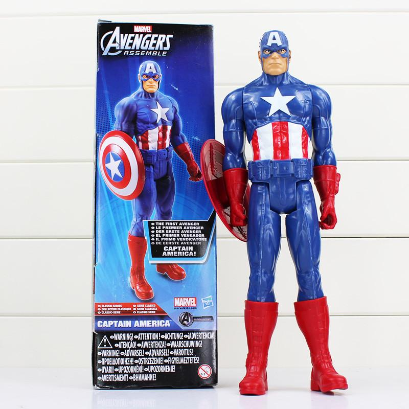 Marvel Toys The Avenger 30CM Super Hero Thor Captain America Wolverine