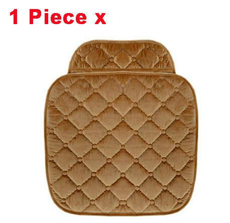5 Seats Car Seat Covers Set For Front Back Seat Chair Set Women Cute Car Seat Cushion Soft Silk Velvet