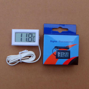 '-50~110 Degree Thermometer Thermograph Digital LCD Probe Fridge zer for Refrigerator Temperature Measurement