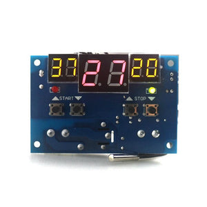 '-9-99C DC 12V Intelligent Digital LED Thermostat Temperature controller With NTC sensor W1401